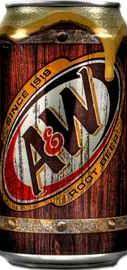 Газированный напиток «А&W Root Beer» жестяная банка