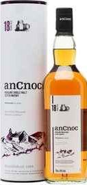 Виски шотландский «An Cnoc 18 Years Old» в тубе