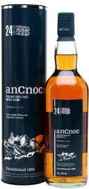 Виски шотландский «An Cnoc 24 Years Old» в тубе