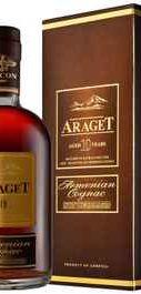 Коньяк армянский «Araget 10 Years Old» в подарочной упаковке
