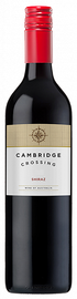 Вино красное сухое «Cambridge Crossing Shiraz» 2018 г.