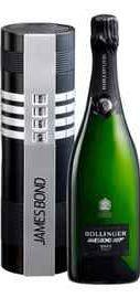 Шампанское белое брют «Bollinger James Bond 007» 2011 г. в подарочной упаковке