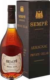 Арманьяк «Sempe Private Cellar Armagnac Sempe» в подарочной упаковке
