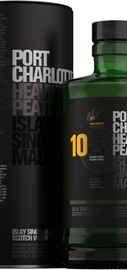 Виски шотландский «Bruichladdich Port Charlotte 10 Years Old» в тубе