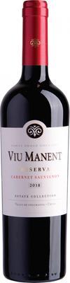 Вино красное сухое «Viu Manent Estate Collection Reserva Cabernet Sauvignon» 2018 г.
