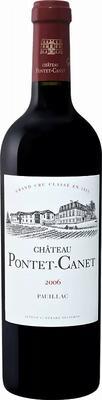 Вино красное сухое «Chateau Pontet Canet Grand Cru Classe Pauillac» 2013 г.