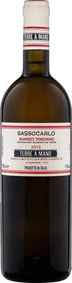 Вино белое сухое «Terre Mano Sassocarlo Bianco Toscano Fattoria Di Bacchereto Di Maria Rossella Bencini Tesi» 2017 г.