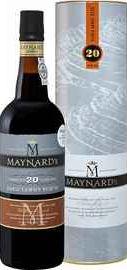 Портвейн «Maynard's Tawny Porto 20 Years Old Barao De Vilar Vinhos»