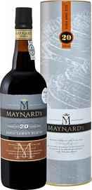 Портвейн «Maynard's Tawny Porto 20 Years Old Barao De Vilar Vinhos» в тубе