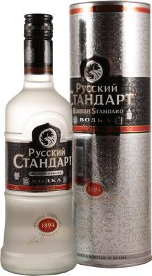 Водка «Русский Стандарт, 1.1 л» в подарочной упаковке