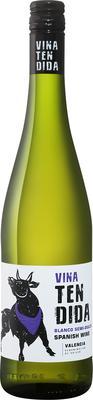 Вино белое полусладкое «Vina Tendida» 2018 г.