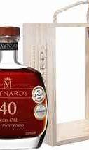 Портвейн «Maynard's Tawny Porto 40 years Old Barao De Vilar Vinhos» в деревянной подарочной упаковке
