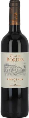 Вино красное сухое «Chai de Bordes Rouge Bordeaux» 2012 г.