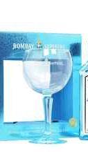 Джин «Bombay Sapphire» в подарочной упаковке с бокалом