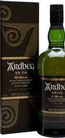 Виски шотландский «Ardbeg An Oa» в подарочной упаковке