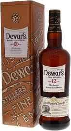 Виски шотландский «Dewar's 12 years old» в металлической упаковке