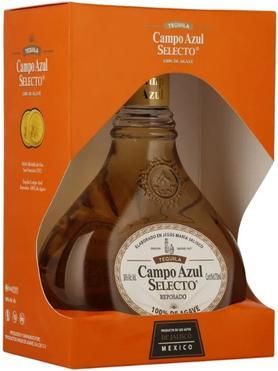 Текила «Campo Azul Selecto Reposado» в подарочной упаковке