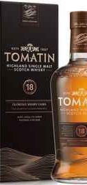 Виски шотландский «Tomatin 18 years» в подарочной упаковке