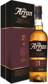Виски шотландский «Arran 21 Years Old» в подарочной упаковке