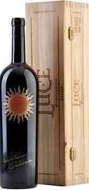 Вино красное сухое «Luce» 2011 г. в деревянной коробке