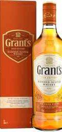 Виски «Grant s Rum Cask Finish» в подарочной упаковке