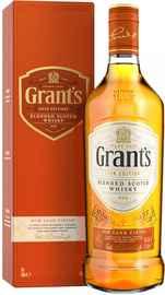 Виски шотландский «Grant s Rum Cask Finish» в подарочной упаковке