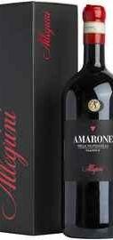Вино красное сухое «Amarone Della Valpolicella Classico » 2015 г. в подарочной упаковке