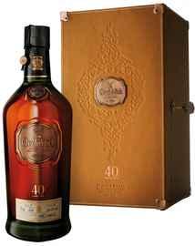 Виски «Glenfiddich 40 Years Old» в деревянной подарочной упаковке
