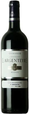 Вино красное сухое «Chateau L'Argenteyre» 2015 г.