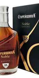 Коньяк российский «Старейшина Noble» в сувенирной подарочной упаковке
