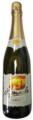 Вино игристое белое брют «Крымское Игристое Золотое»