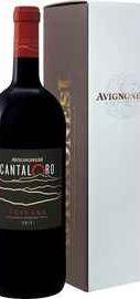Вино красное сухое «Cantaloro Toscana Avignonesi» 2015 г. в подарочной упаковке