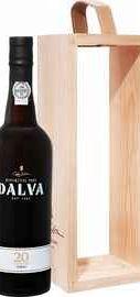 Портвейн «Dalva Porto 20 years Old C. da Silva» в деревянной подарочной упаковке