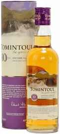 Виски шотландский «Tomintoul Speyside Glenlivet Single Malt Scotch Whisky 10 YO» в тубе