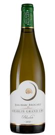 Вино белое сухое «Chablis Grand Cru Les Blanchots, Jean-Marc Brocard (Domaine Sainte-Claire)» 2014 г.