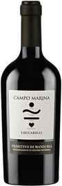 Вино красное полусухое «LuccarelliCampo Marina Primitivo di Manduria» 2017 г.