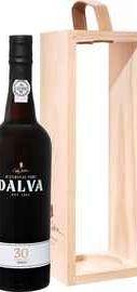 Портвейн «Dalva Porto 30 years Old C. da Silva» в деревянной подарочной упаковке