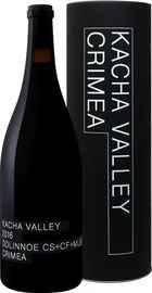 Вино красное сухое «Dolinnoe Kacha Valley Satera» 2016 г. в тубе