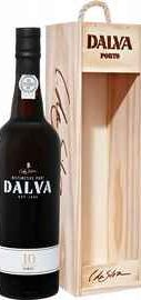 Портвейн «Dalva Porto 10 years Old C. da Silva» в деревянной подарочной упаковке