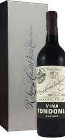 Вино красное сухое «Vina Tondonia Reserva Rioja» 2006 г. в подарочной коробке