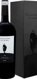 Вино красное сухое «Alessandro Dal Borro Syrah Toscana Il Borro» 2012 г., в подарочной упаковке