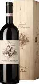 Вино красное сухое «Le Potazzine Brunello di Montalcino» 2013 г. в деревянной коробке