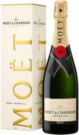 Шампанское белое брют «Moet & Chandon Brut Imperial» в подарочной упаковке