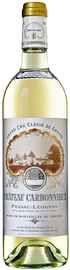 Вино белое сухое «Chateau Carbonnieux Blanc Pessac-Leognan Grand Cru Classe» 2014 г.