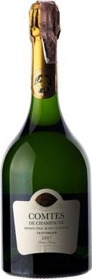 Вино игристое белое сухое «Taittinger Comtes De Champagne Blanc De Blancs Brut» 2007 г.