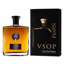 Коньяк французский «Frapin VSOP Grande Champagne 1er Grand Cru du Cognac» в подарочной упаковке