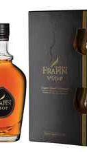 Коньяк французский «Frapin V.S.O.P. Grande Champagne» в подарочной упаковке с 2-мя стаканами.