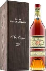 Арманьяк «Baron G. Legrand 1999 Bas Armagnac» в деревянной подарочной упаковке