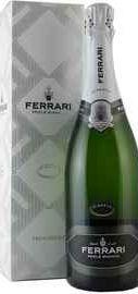 Вино игристое белое брют «Ferrari Perle Bianco Riserva» 2007 г., в подарочной упаковке