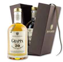 Граппа «Monte Sabotino Selezione Gran Riserva 20 y.o.» в подарочной упаковке